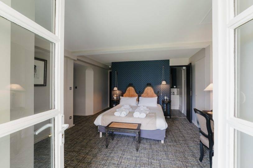 Votre Chambre Supérieure à l'Hôtel**** la Robéyère - Embrun